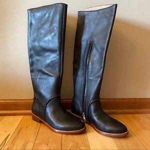Ugg Gracen Whipstitch Black 1019086 Boots leather